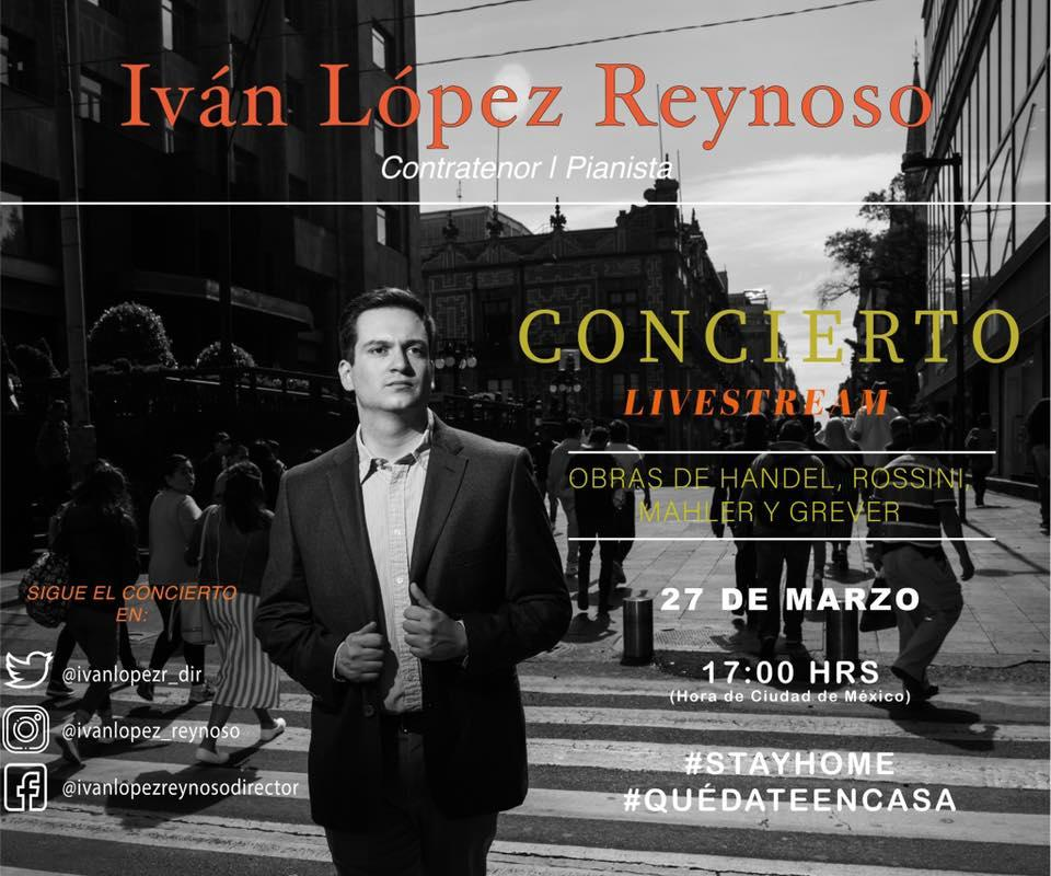 Ivan Lopez-Reynoso sings countertenor arias