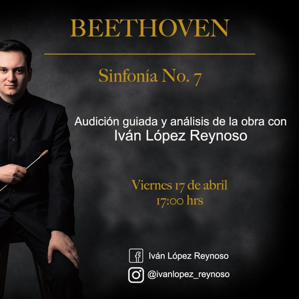 Ivan Lopez-Reynoso analyses Beethoven's 7th symphony on Facebook