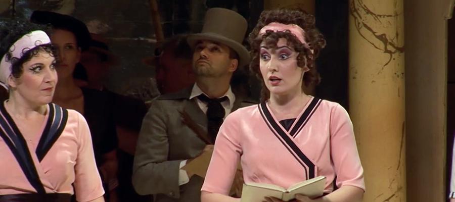 Dusica Bijelic sings again Adina (L'elisir d'amore)