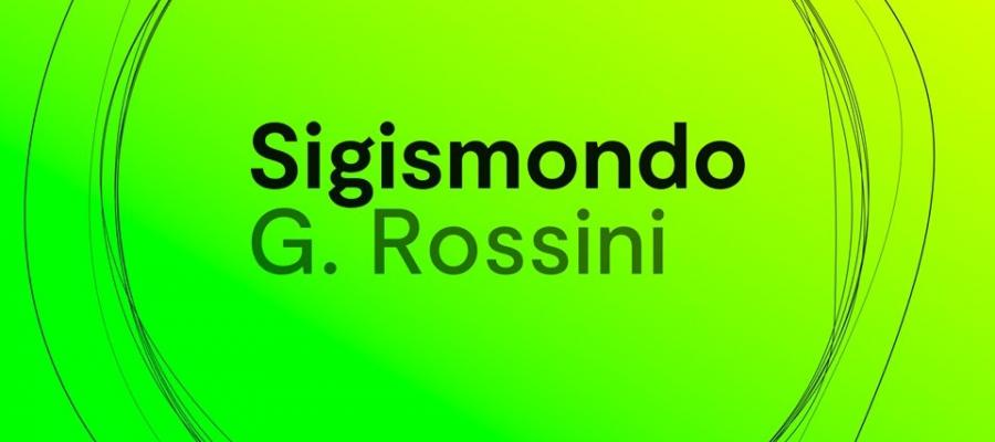 "Krystian Lada presents Rossini's ""Sigismondo"", a new production for Opera Rara"