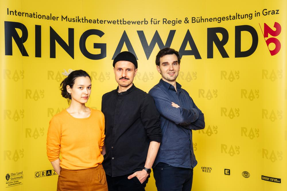 Krystian Lada and his team in the Final of the Ringaward