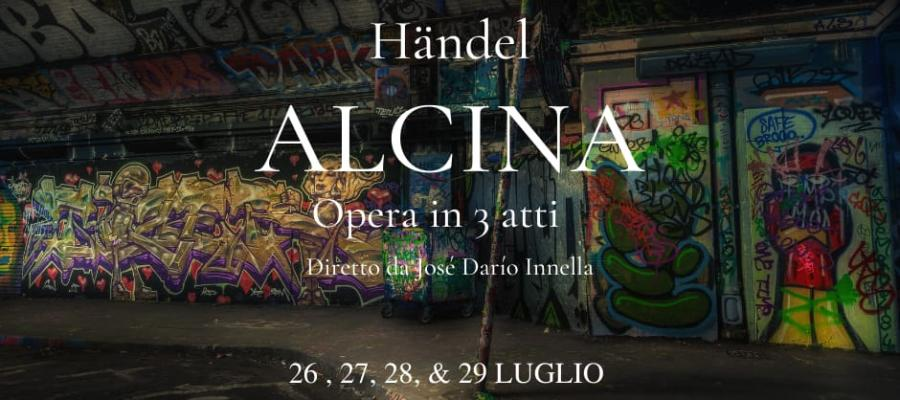 Jose Dario Innella directs Alcina in a new outdoors production, Italy