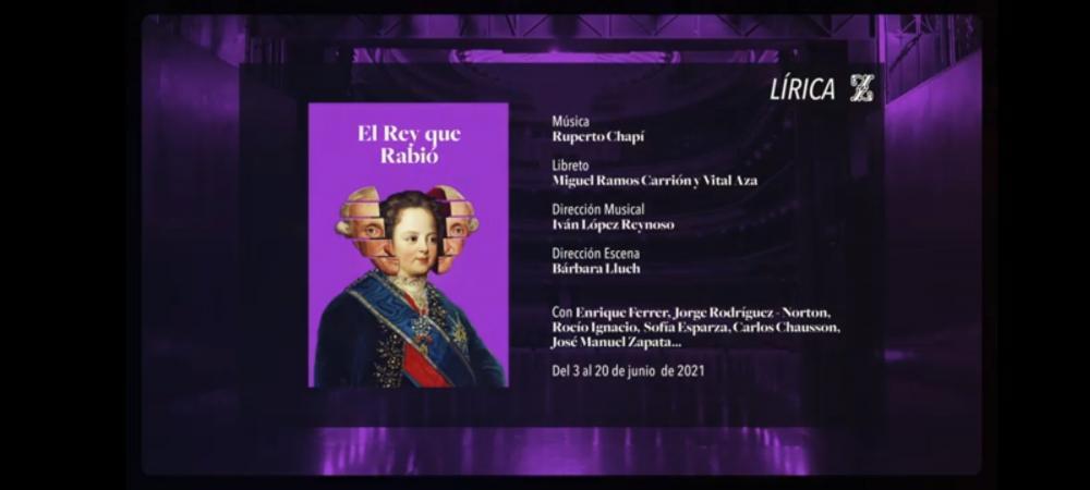 """Ivan Lopez-Reynoso: new production of """"El rey que rabió"""", zarzuela by R. Chapí"""