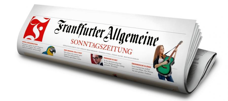 Unsere Zeit: Frankfurter Allgemeine Zeitung