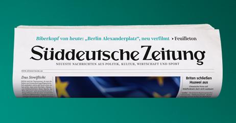 Unsere Zeit, Sueddeutsche Zeitung